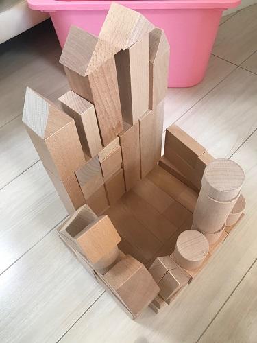 3歳になるお子様の知育におすすめの【積み木】